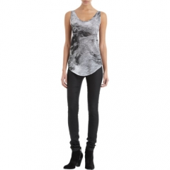 HELMUT Smudge Print Tank at Barneys