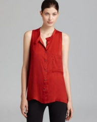 HELMUT by Helmut Lang Shirt - Racerback Coma at Bloomingdales