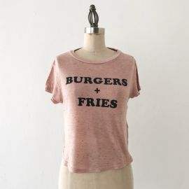 HM Burgers Fries Tee at Poshmark