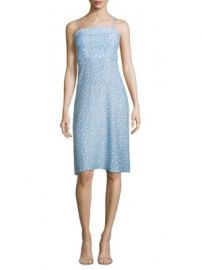HVN - Nora Star-Print Silk Dres at Saks Fifth Avenue