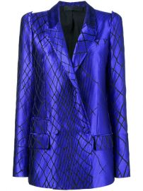 Haider Ackermann 3D Shoulder Smiths Blazer  2 827 - Buy Online - Mobile Friendly  Fast Delivery  Price at Farfetch
