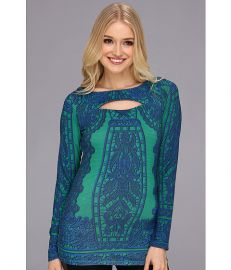Hale Bob Elodie LS Top Emerald at 6pm