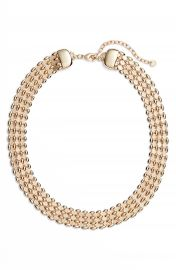 Halogen   Glimmer Chain Collar at Nordstrom