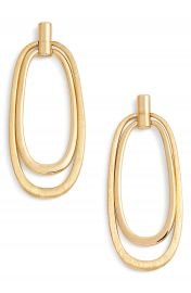 Halogen   Oval Drop Earrings   Nordstrom at Nordstrom