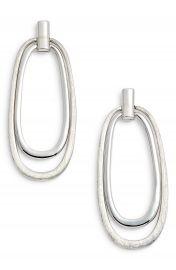 Halogen   Oval Drop Earrings at Nordstrom