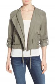 Halogen   Soft Collarless Jacket  Regular   Petite at Nordstrom