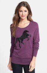 Halogenand174 Embellished Sweater at Nordstrom