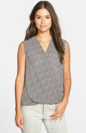 Halogenand174 Sleeveless Wrap Top at Nordstrom