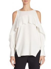 Halston Heritage - Cold-Shoulder Tunic at Saks Fifth Avenue