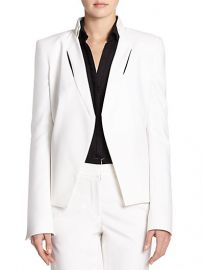 Halston Heritage - Inset-Detail Jacket at Saks Fifth Avenue