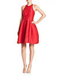Halston Heritage - Structured Cutout Dress at Saks Fifth Avenue