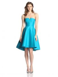 Halston Heritage Strapless Dress at Amazon