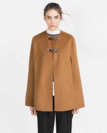 Hand Made Cape at Zara