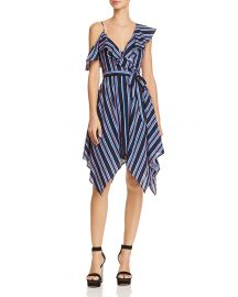 Handkerchief-Hem Striped Dress at Bloomingdales