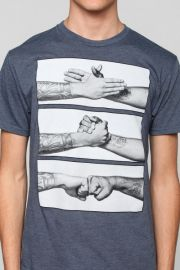 Handshake Tee at Urban Outfitters