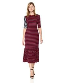 Hang Ten Striped Maxi Dress by Cynthia Rowley at Amazon