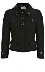 Tailored black jacket at Karen Millen