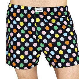 Happy Socks Gift Box Set Menand39s Woven Boxer and socks at Amazon