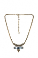 Harlem necklace by Lionette NY at Forward by Elyse Walker