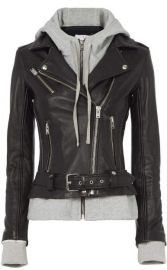 Harper Combo jacket by IRO at Intermix