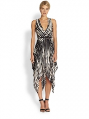 Haute Hippie - Printed Handkerchief Wrap Dress at Saks Fifth Avenue