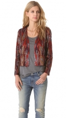 Haute Hippie Snake Ikat Sequin Jacket at Shopbop