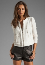 Haydens white jacket at Revolve at Revolve