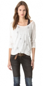 Haydens white star top at Shopbop