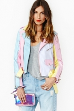 Hayleys pastel jacket at Nasty Gal at Nasty Gal