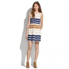 Hazestripe dress  at Madewell