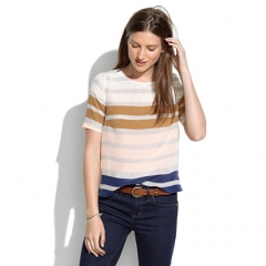 Hazestripe top at Madewell
