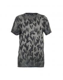Heart Print T-Shirt by Diesel at Yoox