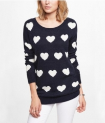 Heat Jacquard Sweater at Express