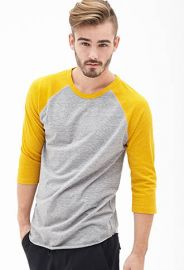Heathered Raglan Tee at Forever 21