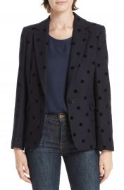 Helene Berman Polka Dot Blazer at Nordstrom
