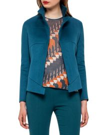 Hello Seamed Cashmere Jacket by Akris at Last Call