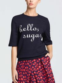 Hello Sugar Sweatshirt at Draper James