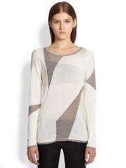 Helmut Lang - Contour Melange Sweater at Saks Fifth Avenue