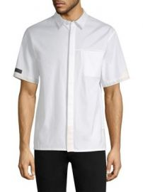Helmut Lang - Seam-Stitched Pocket Shirt at Saks Fifth Avenue