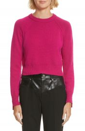 Helmut Lang Cashmere Crop Sweater at Nordstrom