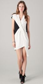Helmut Lang Cross Tuck Dress at Shopbop