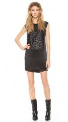 Helmut Lang Fractal Mini Dress at Shopbop