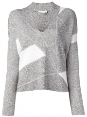 Helmut Lang Geometric Panel Sweater - Changing Room at Farfetch