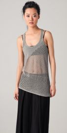 Helmut Lang Knit Racer Back Tank at Shopbop