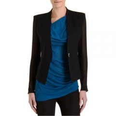 Helmut Lang Sheer Sleeve Blazer at Barneys