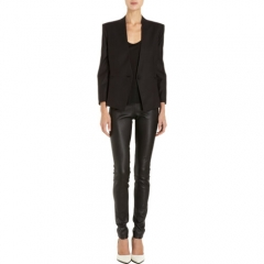 Helmut Lang Single-Button Reflect Blazer at Barneys