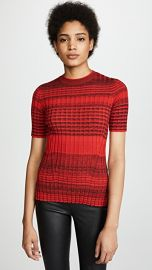 Helmut Lang Stripe Crew Neck Sweater at Shopbop
