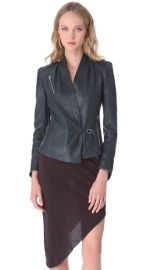 Helmut Lang Supple Leather Jacket at Shopbop