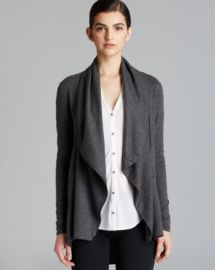 Helmut Lang Sweater - Sonar Wool Shawl Collar at Bloomingdales
