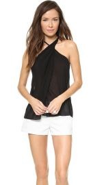 Helmut Lang Twist Neck Top at Shopbop